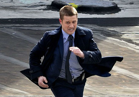 Ben McKenzie as Detective Jim Gordon in Gotham. (Photo: Curtis Means?REX)