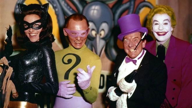 batman-66-villains Ranking the Batman Movies | IGN