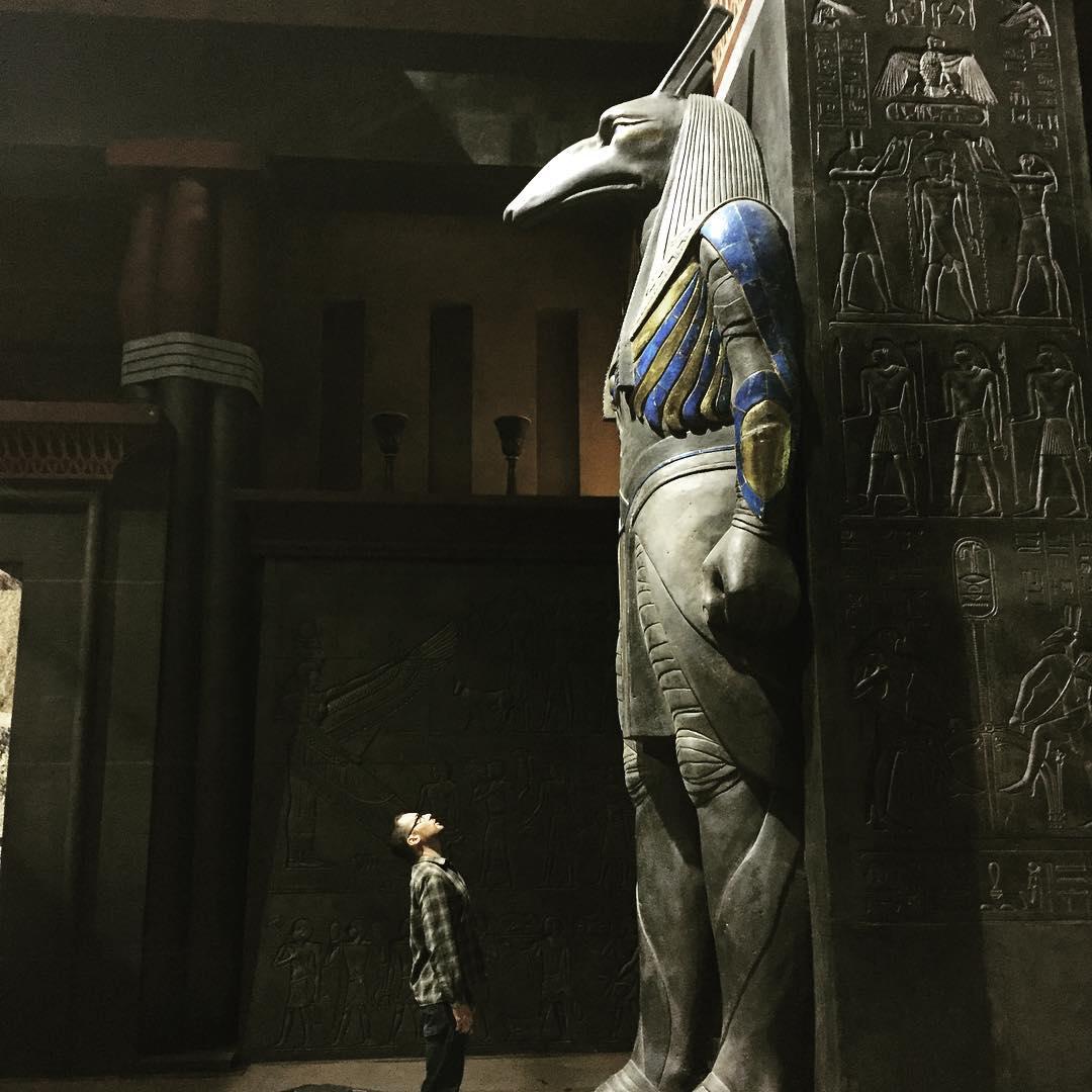 Director Bryan Singer Posts Photo Of Big Egyptian Set For
