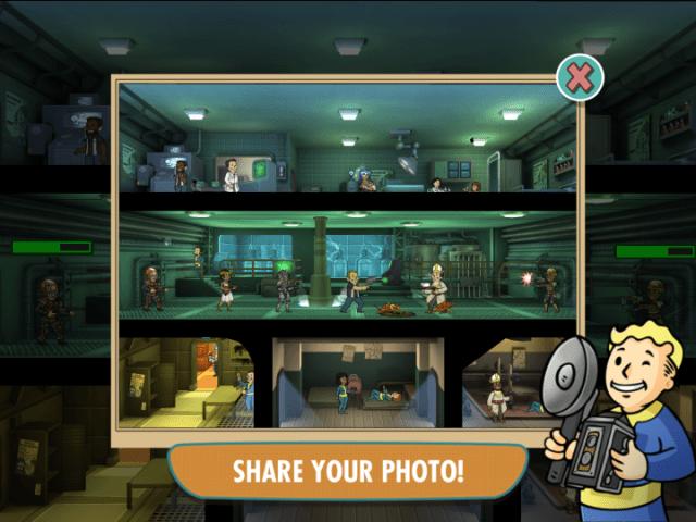 Fallout Shelter Photo Mode