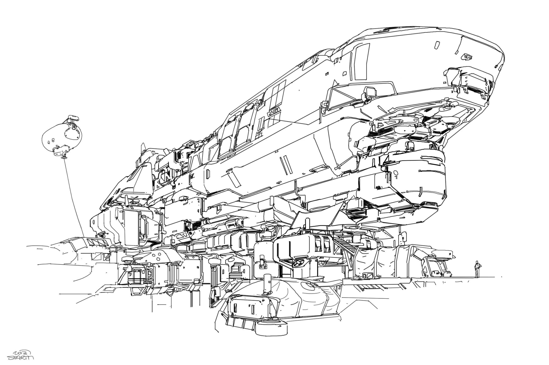 Halo 5 Concept Art Sampling Revealed