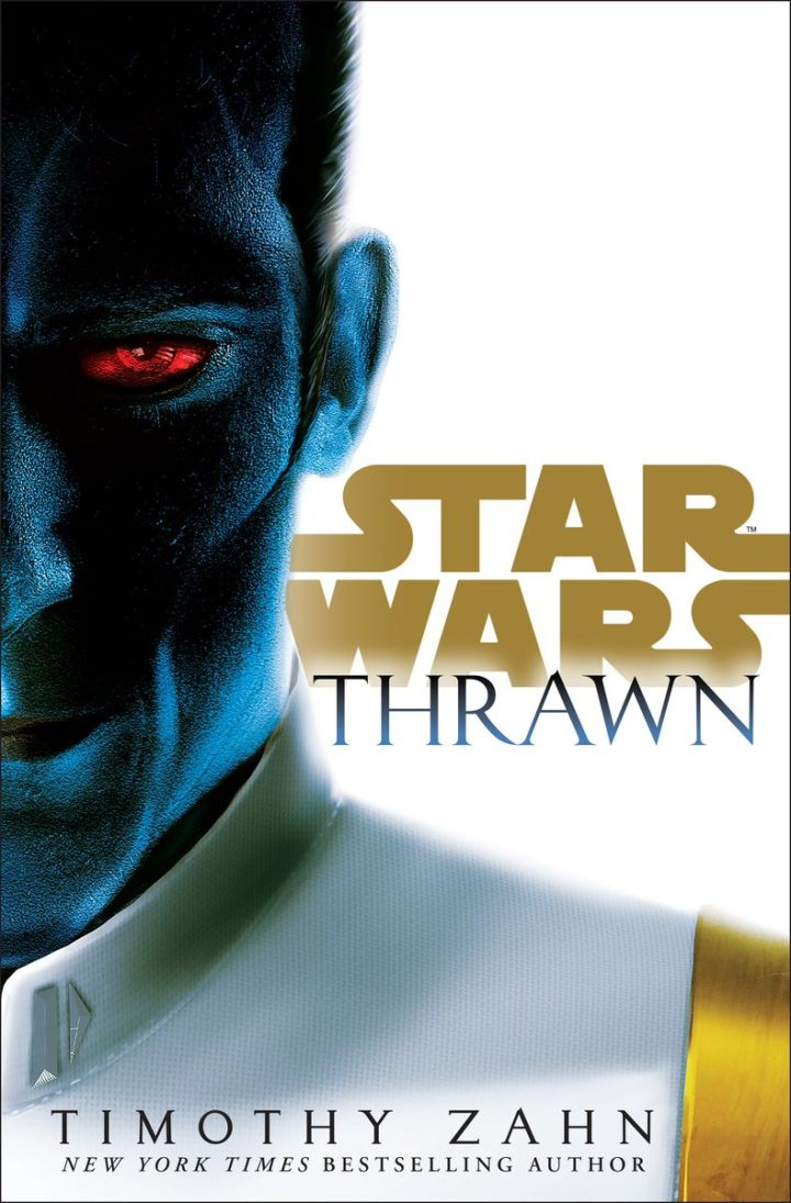 Cover for Timothy Zahn's Thrawn.