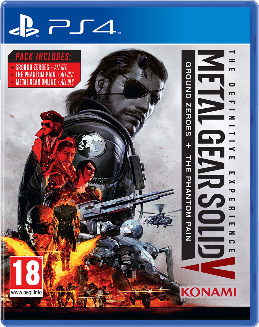 Metal Gear Solid V: The Definitive Experience Box Art