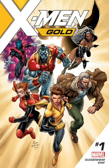 Image result for X men gold 1