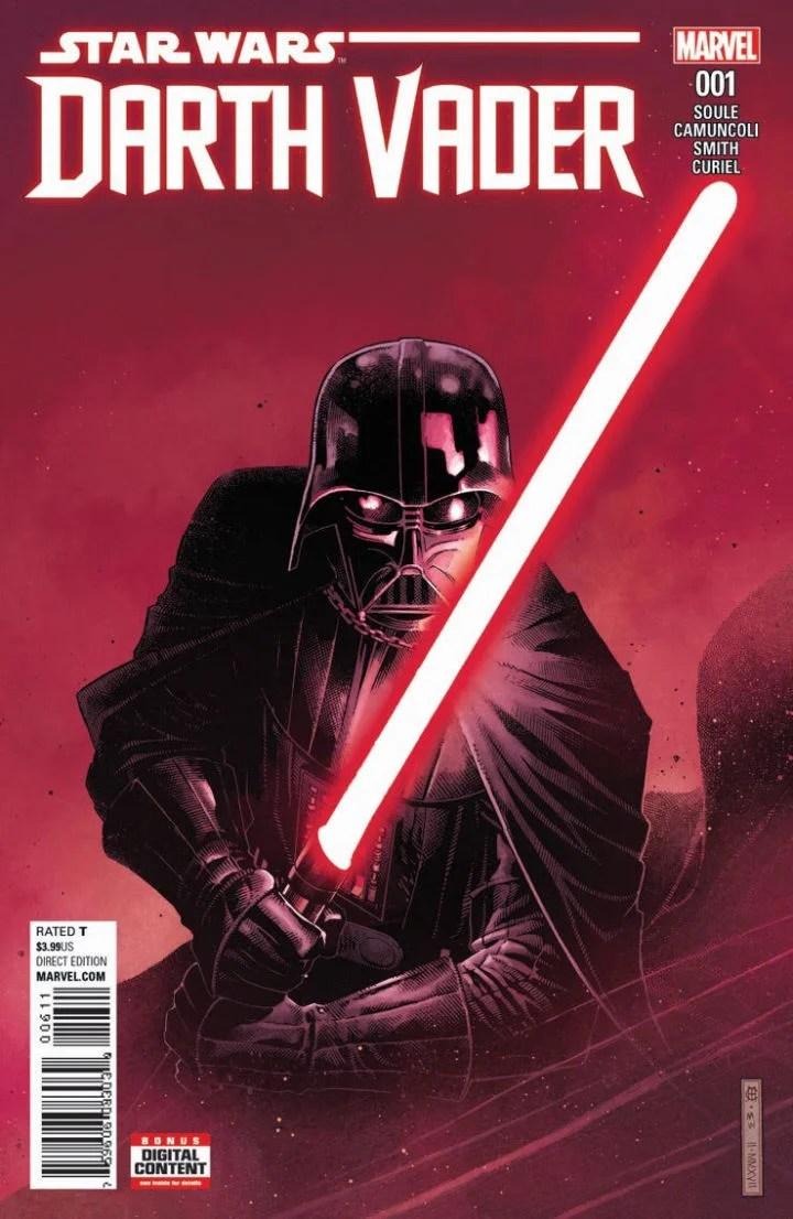 Darth Vader #1 cover by Chris Samnee. (Marvel Comics)