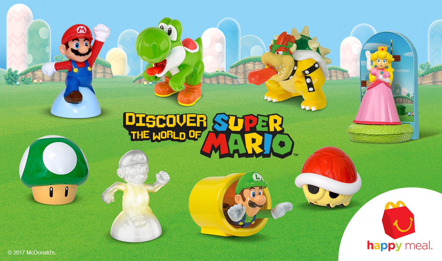 Mario Toys Now Available In McDonalds Happy Meals IGN