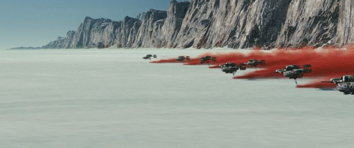 Image result for the last jedi teaser crait
