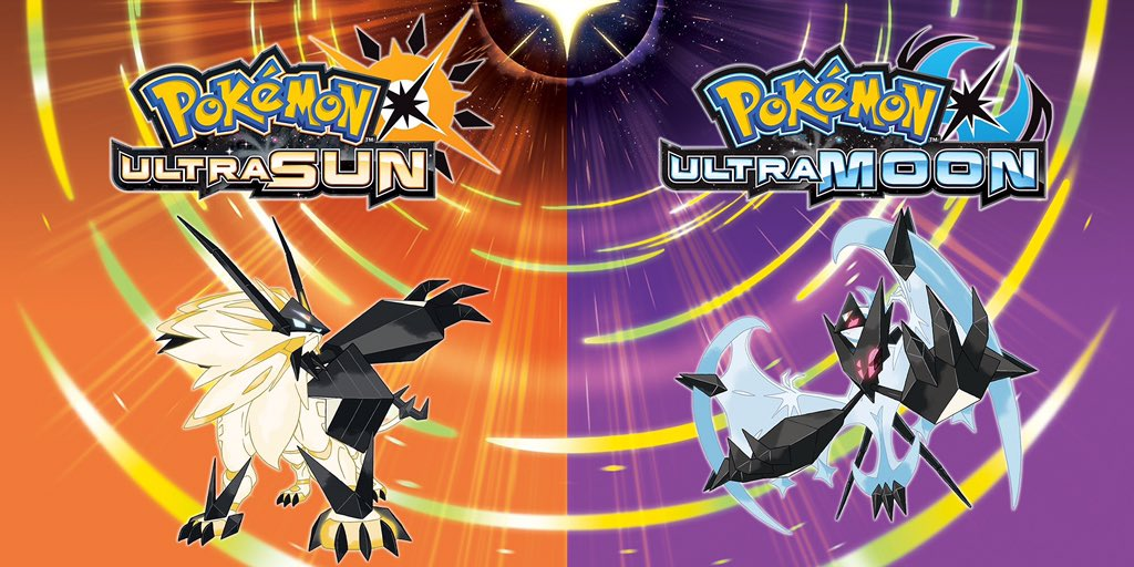 Image result for Pokémon Ultra Sun / Pokémon Ultra Moon
