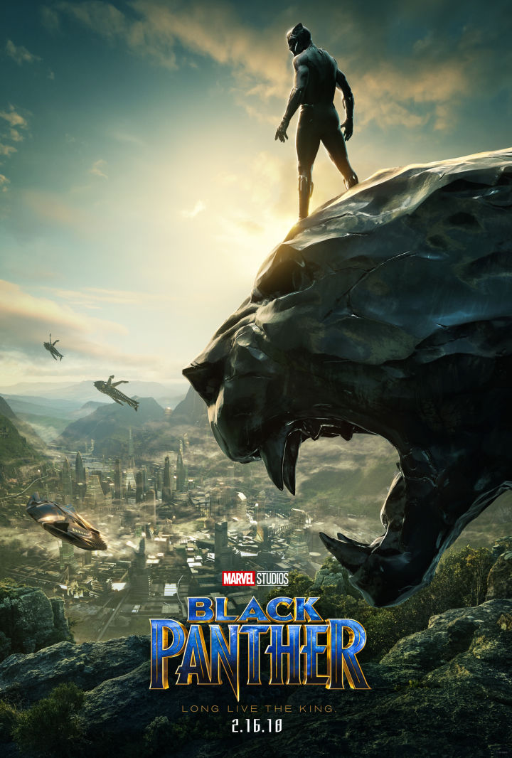 Comic Con 2017 New Poster For Marvels Black Panther