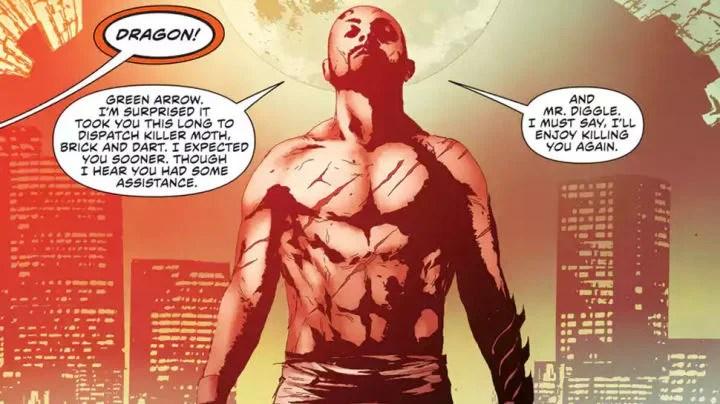 The New 52 version of Richard Dragon. (DC Comics)