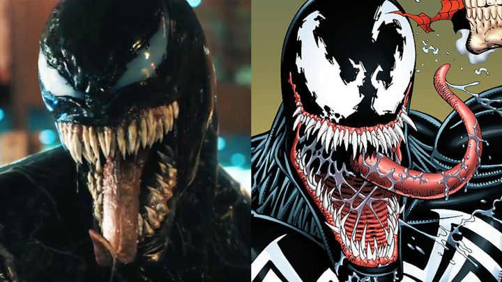 Image result for venom comic comparison