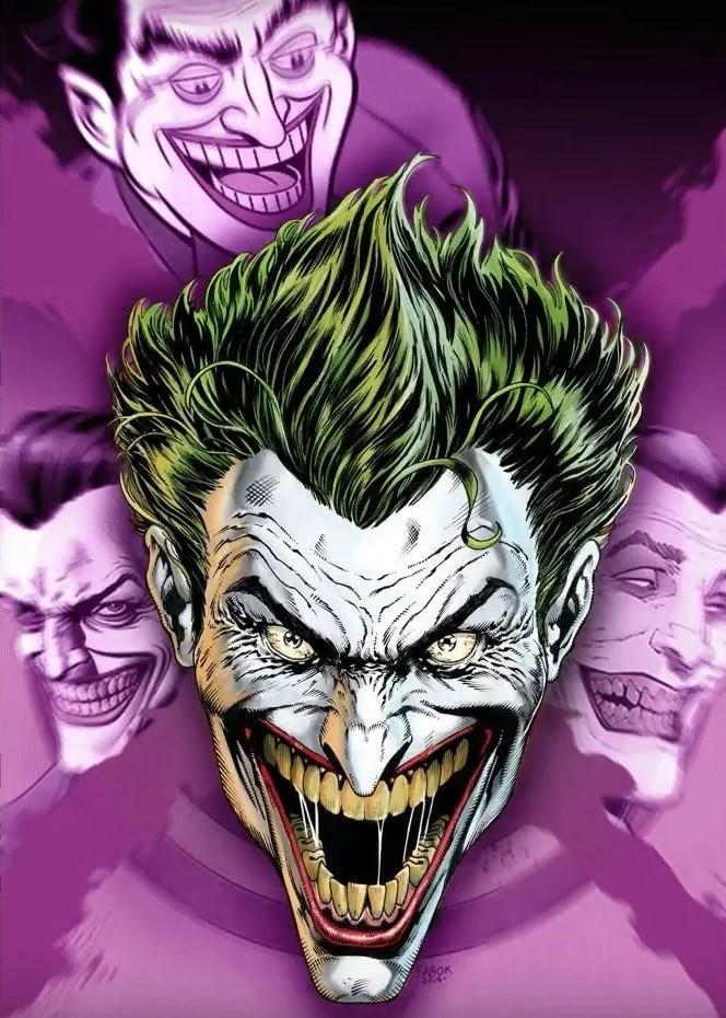 DC Rebirth Joker teaser by various artists. (DC Entertainment)