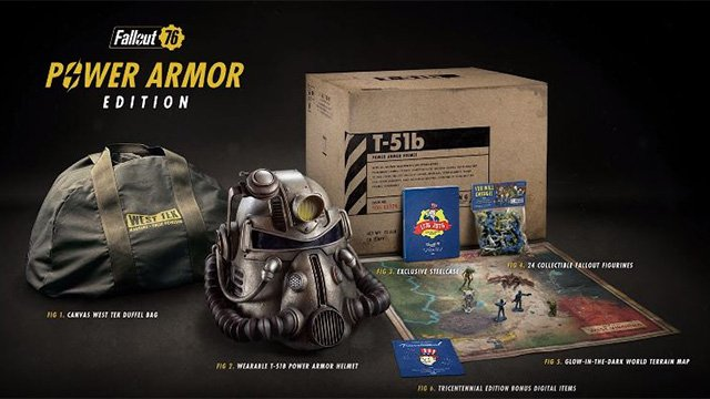 Fallout 76 Power Armor Edition In And Out Of Stock At