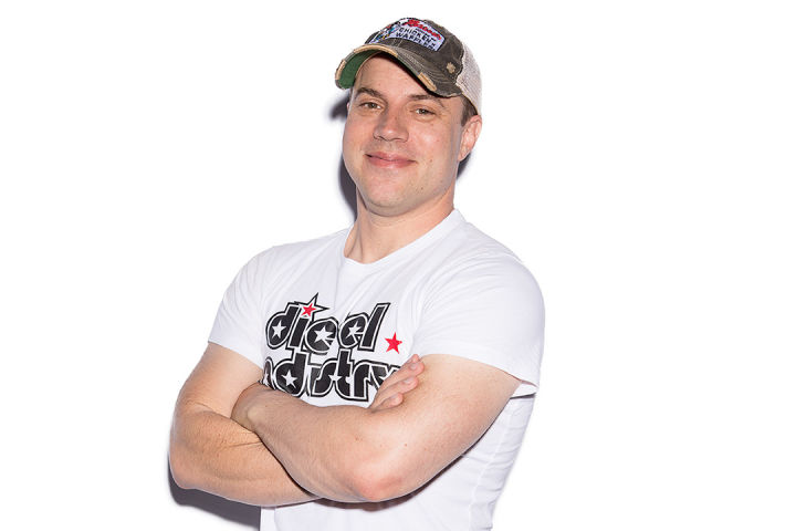 Geoff Johns at IGN's Comic-Con live stream 2015.