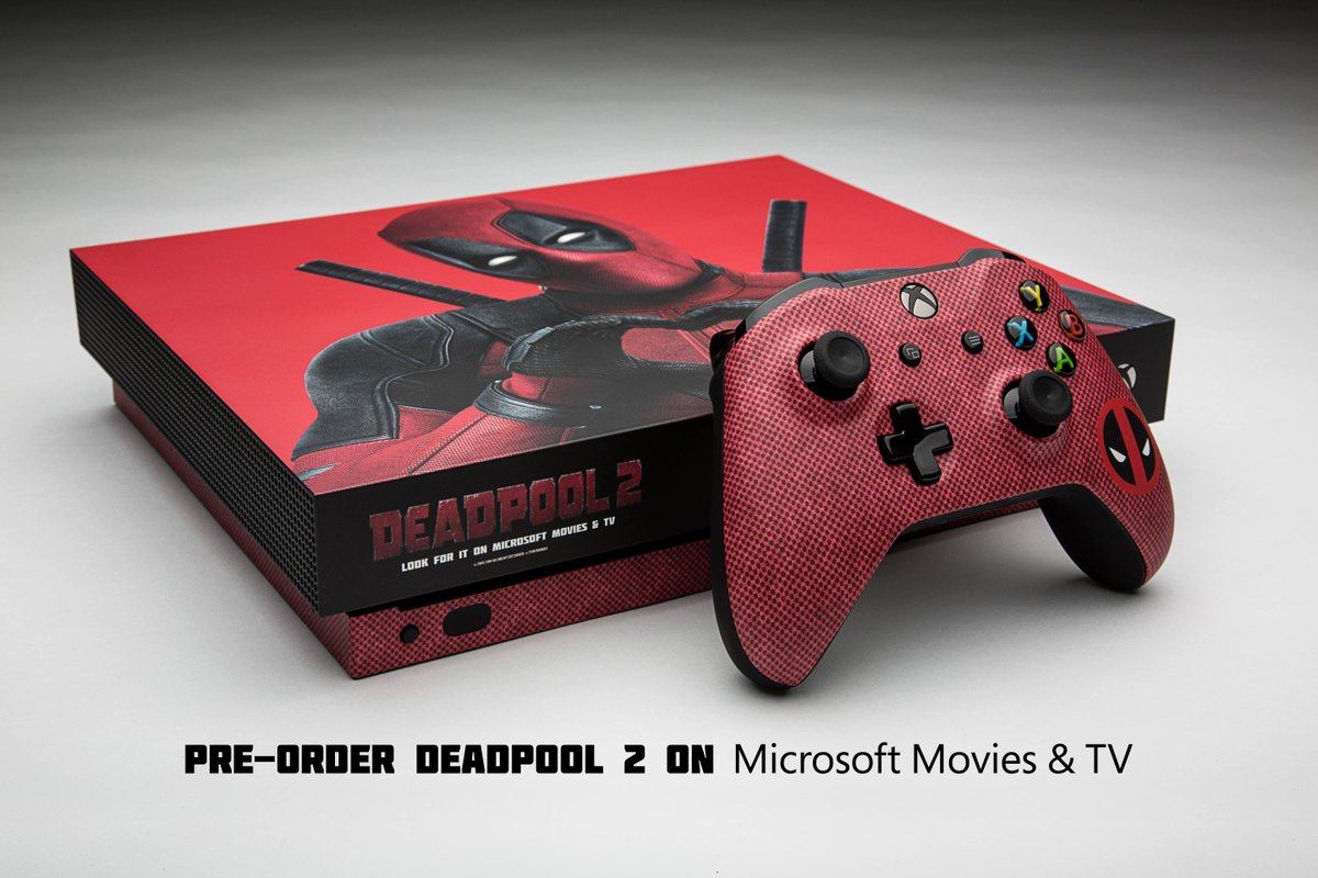You Can Win This Extremely Limited Deadpool 2 Themed Xbox One X IGN
