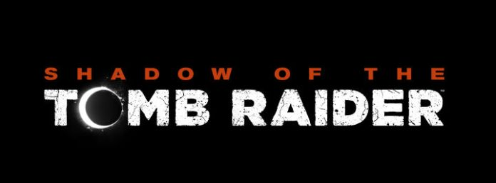 Logo art for Shadow of the Tomb Raider.