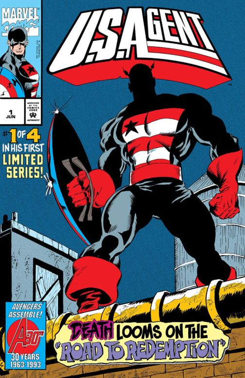 U.S._Agent_Vol_1_1-720x1107 The History of The Falcon and the Winter Soldier's John Walker | IGN