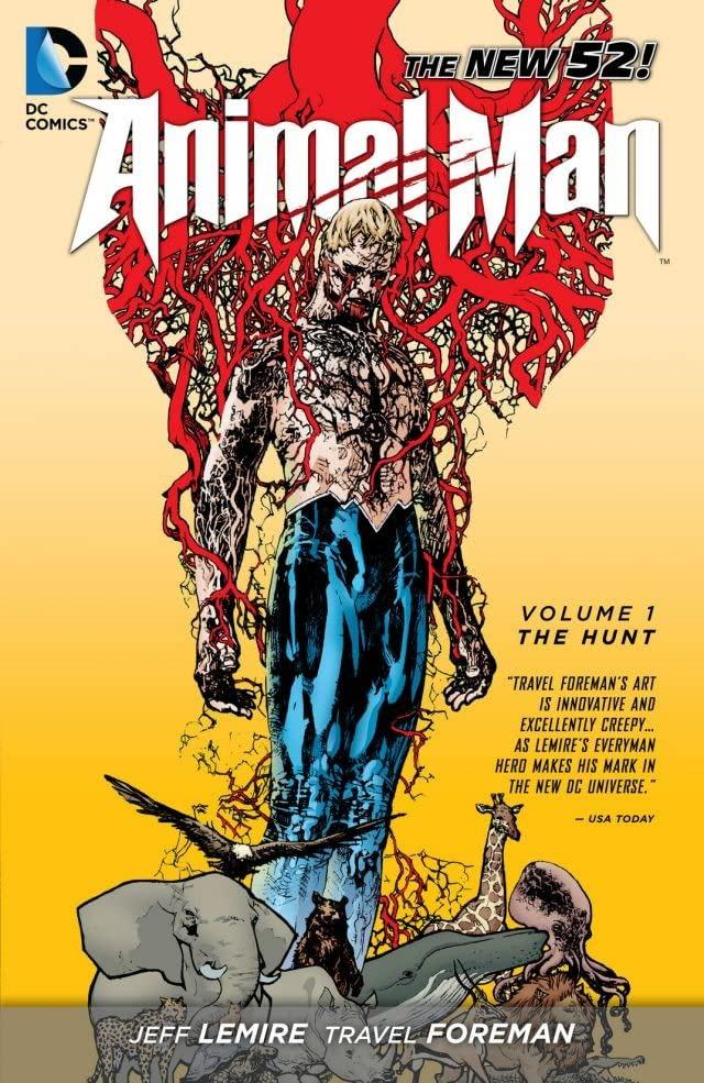 animal-man 25 Best Bingeable Comics on ComiXology Unlimited | IGN