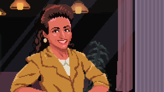 Elaine-closeup-IGN Seinfeld Adventure – Inside the Game About Nothing | IGN