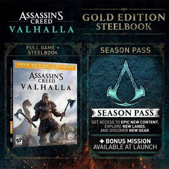 assassins-creed-valhalla-gold-edition Assassin's Creed Valhalla: Here's What Comes in Each Edition | IGN
