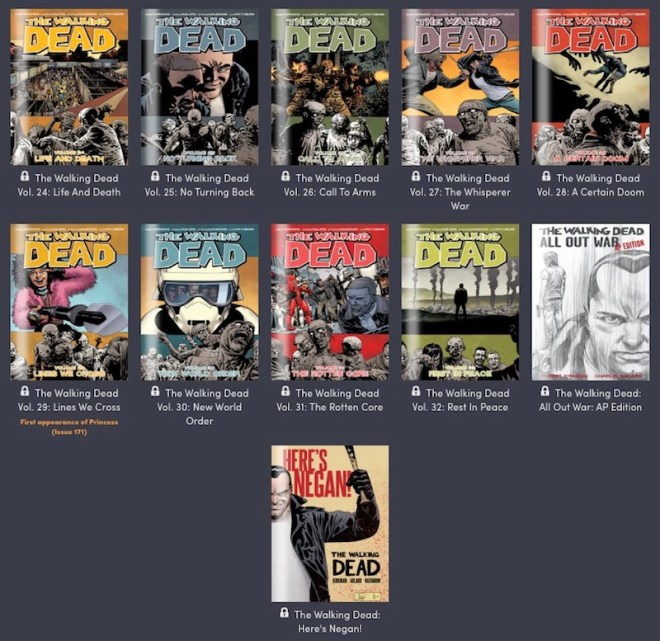 walking-dead-humble-bundle-tier-4 Last Chance: Get the Entire Walking Dead Comic Series for $18 | IGN