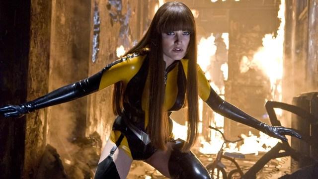 Akerman as Silk Spectre in 2009's Watchmen.