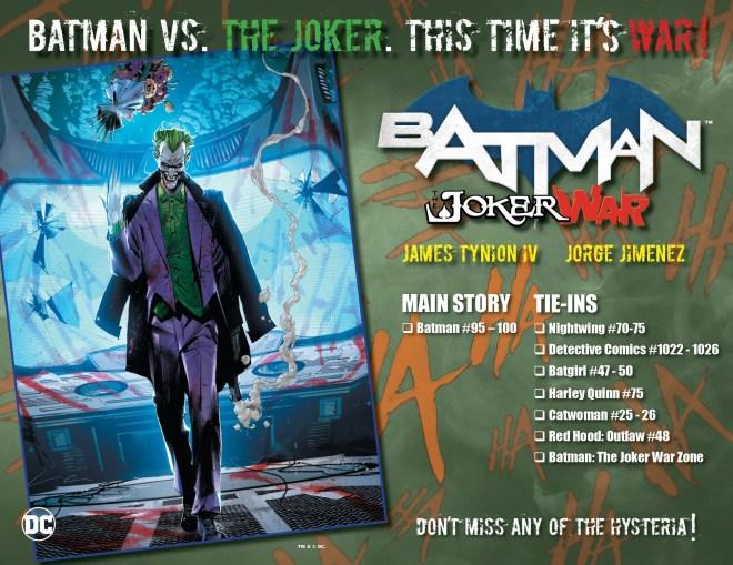 JokerWarChecklist-Hi-Res-page-001 Joker War: Why Batman's Worst Enemy Is More Dangerous Than Ever | IGN