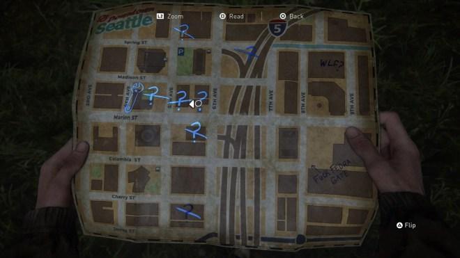 Map The Last of Us Part 2: 14 Brilliant Little Details | IGN