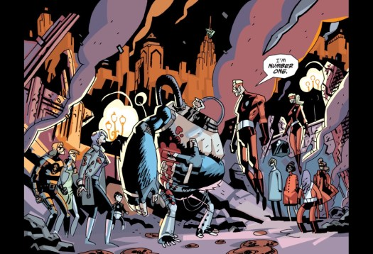 The Sparrow Academy as seen in the comics.