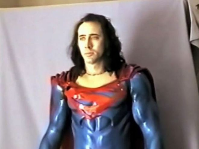 superman-lives-nic-cage J.J. Abrams' First Superman Reboot and All the Other DC Movies That Failed to Launch   IGN