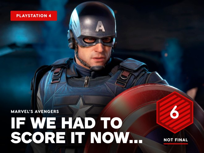 Avengers-Temp-Score Marvel's Avengers Review in Progress - If We Had To Score It Now... | IGN