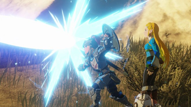 Hyrule-Warriors-Age-of-Calamity-IGN-Link-Shield-Parry 54 Things Breath of the Wild Fans Will Love About Age of Calamity | IGN