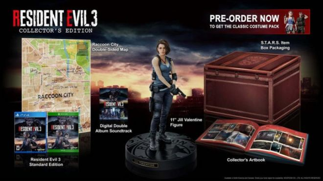 RE3collectors-720x404 Everything We Know About Resident Evil 3 (So Far) | IGN
