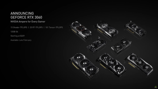 3060-cards-720x405 Nvidia GeForce RTX 3060 Unveiled | IGN