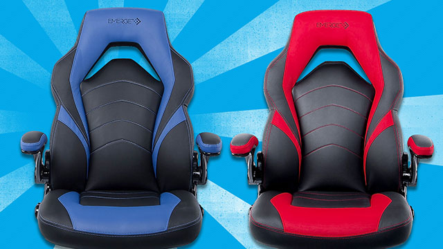 vortexchair2 Daily Deals: 50% Off This Staples Emerge Vortex Leather Gaming Chair   IGN