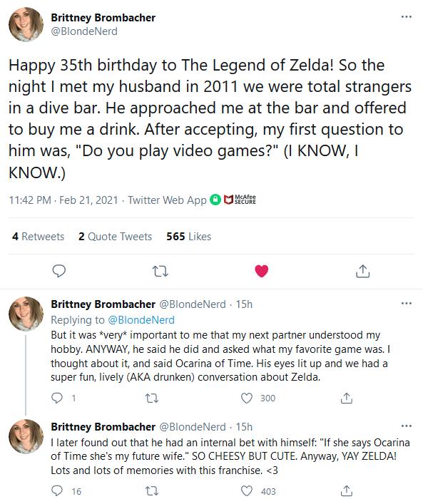 Brit It Felt Like Everyone Celebrated Zelda's 35th Anniversary Except Nintendo   IGN