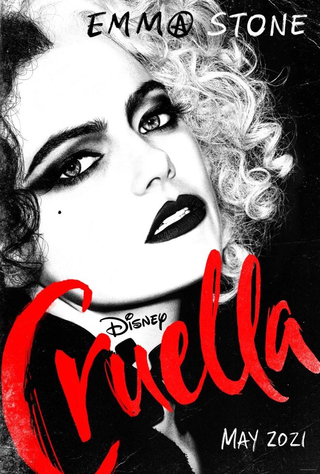 Disney-Cruella-Poster Disney's Cruella: New Poster Released Ahead of Official Trailer Tomorrow | IGN