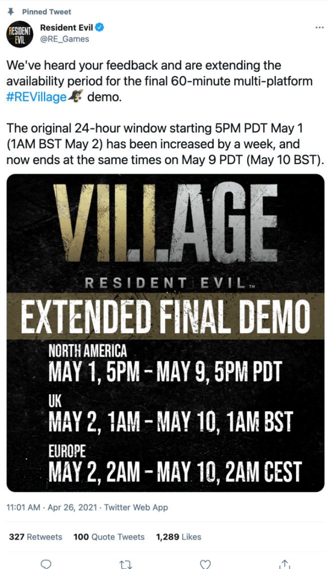 RE-720x1244 Resident Evil Village Final Demo Extended Following Fan Outcry | IGN
