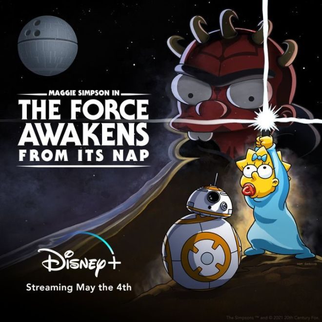 E0d8utUUcAQpzyq-720x720 Star Wars and Simpsons Crossover Short Joins Disney+ Star Wars Day Celebrations | IGN