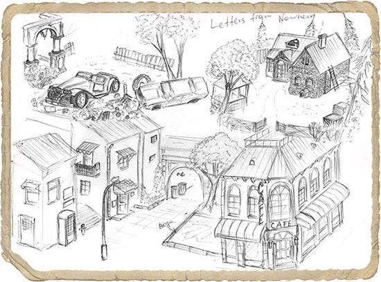 Letters from Nowhere Concept Art