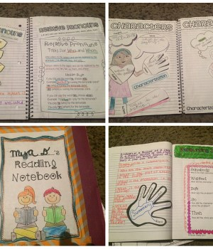 ELA Interactive Notebooks
