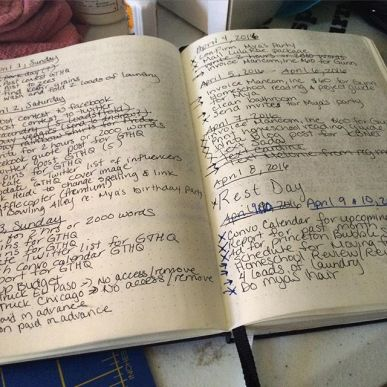 Bullet Journals and Homeschooling
