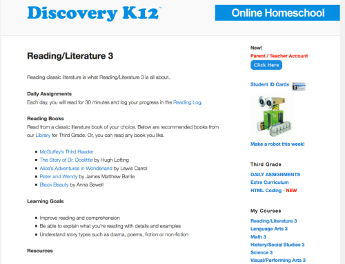 Discovery K12