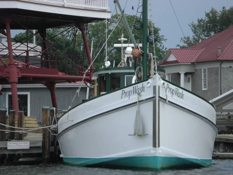 Chesapeake Bay Oyster Buyboat PropWash