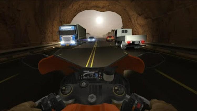 Traffic Rider mobil yarış oyunu