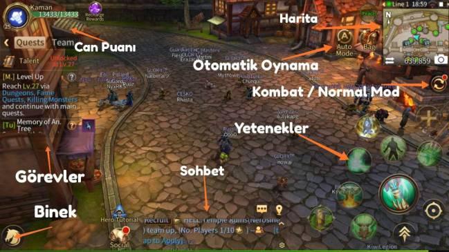 Era of Legends - Telefonda World of Warcraft Oyna