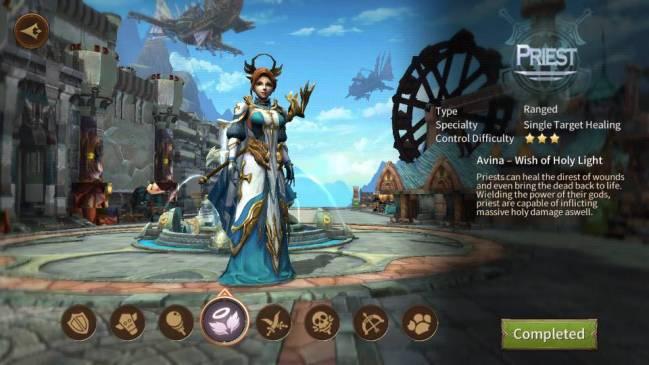 Era of Legends priest