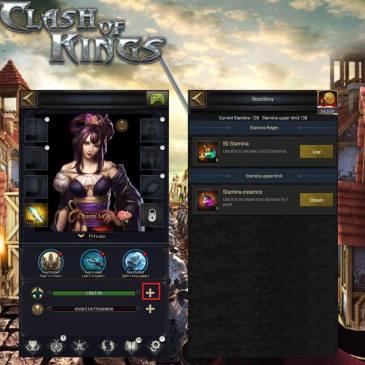 clash of kings dayanıklılık üst limiti nasıl arttırılır