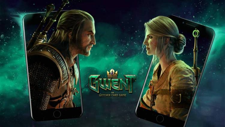 gwent witcher card game mobile geliyor