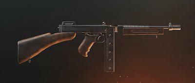 tommy gun pubg mobile